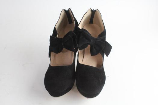 Black Womens Heels, Size 41
