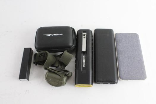 Blackweb Portable Charger And More, 5 Pieces