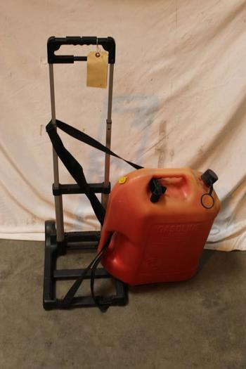 Blitz 6 Gallon Gas Can And Tayeou Rolling Cart, 2 Pieces