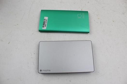 Bluetooth Headphones, Tablets And Powerbanks: IO+ Solove, Ipad, Jabra: 5 Items