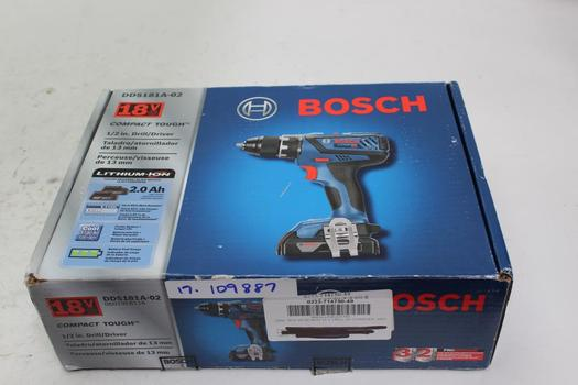 """Bosch 1/2"""" Drill/ Driver With Accessories"""