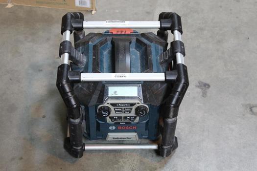 Bosch Pb360S Work Site Subwoofer Radio