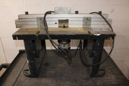 Bosch Router Table With Porter Cable Router