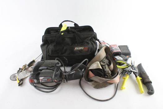 Bosch Tool Bag With Tools, 10+ Pieces