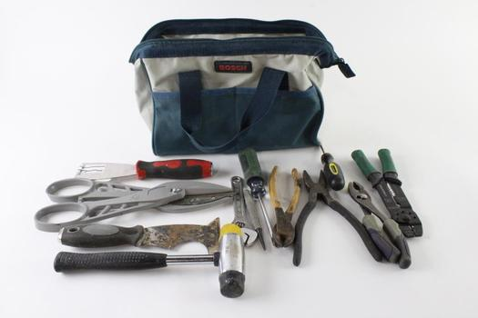 Bosch Tool Bag With Tools, 5+ Pieces