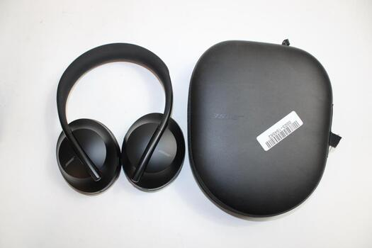Bose Noise Cancelling Bluetooth Headphones With Case, AUX Cord, And Charging Cable