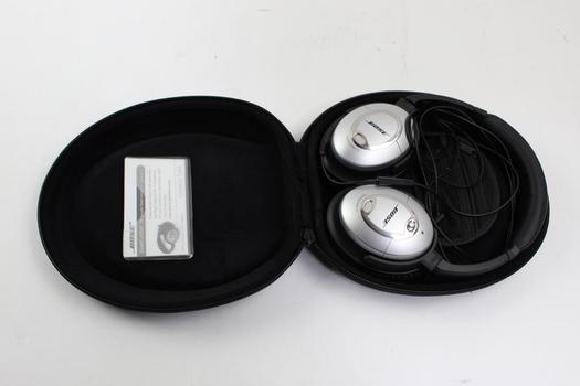 Bose Quiet Comfort 15 On Ear Headphones