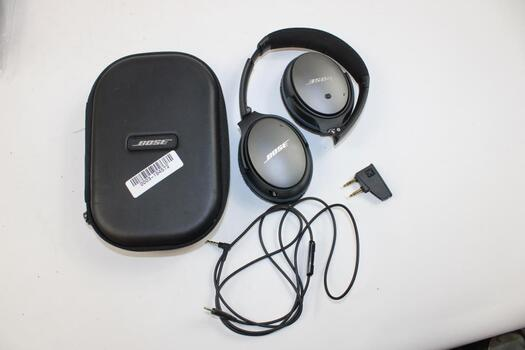 Bose QuietComfort Noise Cancelling Wired Headpones