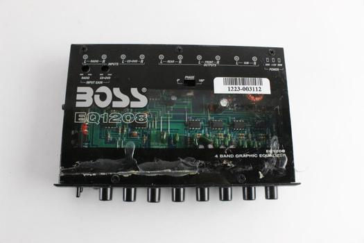 Boss 4 Band Graphic Equalizer