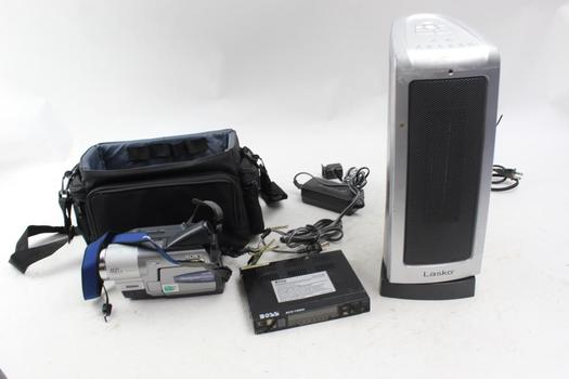 Boss Equalizer, Sony Video Camera, Lasko Heater 3 Pieces
