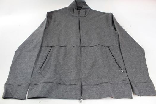 Boss Hugo Boss Regular Fit Zip Up Sweater Size: Medium
