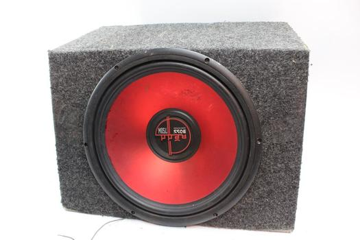 Boss Spaker With Scosche Amp