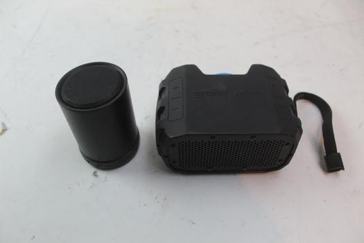 Braven And 808 Portable Bluetooth Speakers