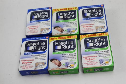 Breathe Right Nasal Strips 6 Pieces
