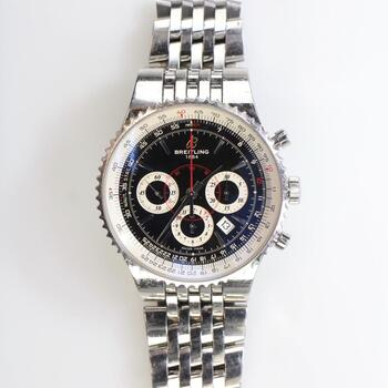 Breitling Montbrillant Navitimer Watch - Evaluated By Independent Specialist