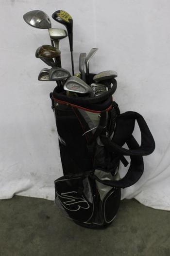 Bridgestone Bag With Clubs, 10+ Pieces