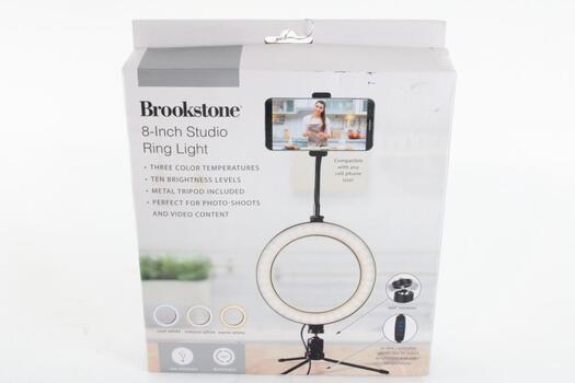 Brookstoner Studio Ring Light For Cell Phone