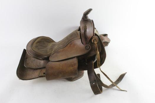 Brown Horseback Saddle