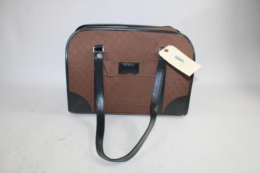 Brown Joy Mangano Duffle Bag