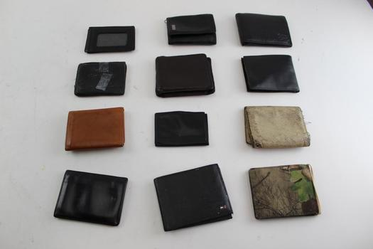 Bsa, Tommy Hilfiger, & More Assorted Wallets; 10+ Pieces