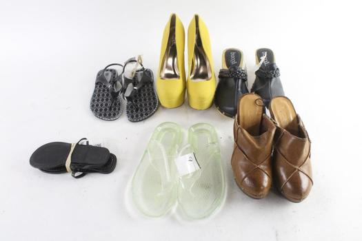Bucco And Other Shoes, 6 Pairs
