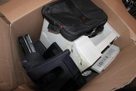 Bulk Lot Of Laptops, Printers And Other Electronics