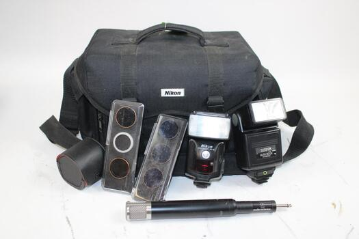 Bulk Lot Of Photography Equipment 7 Pieces Total
