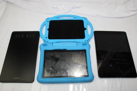 Bulk Lot Of Tablets, 4 Pieces