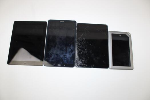 Bulk Lot Of Tablets 4 Pieces Total