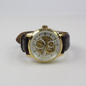 Bulova Classic Sutton Skeleton Automatic Watch