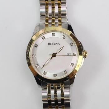 Bulova Classics Mother Of Pearl Watch
