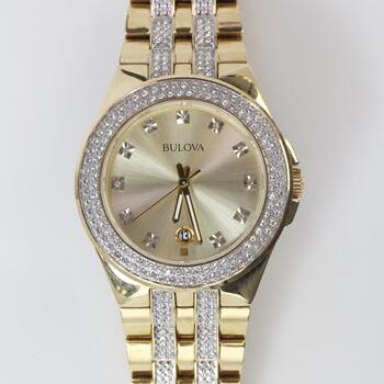 Bulova Crystal Phantom Watch