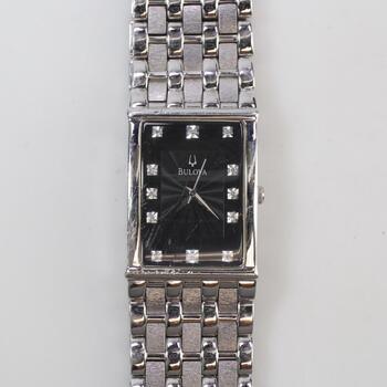 Bulova Diamond Accent Watch