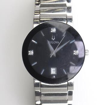 Bulova Stainless Steel Watch