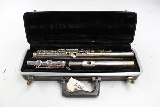 Bundy Selmer Flute With Case