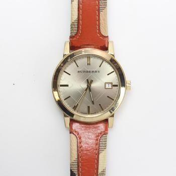 Burberry Large Check Ladies Watch