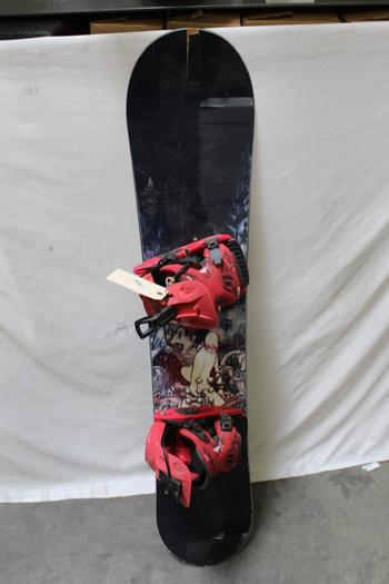 Burton The White Collection Snowboard With Bindings