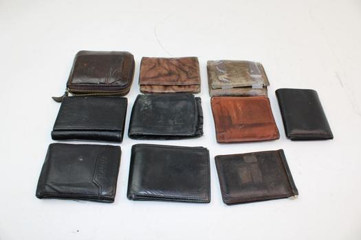 Buxton, Bellroy, & More Assorted Wallets; 5+ Pieces