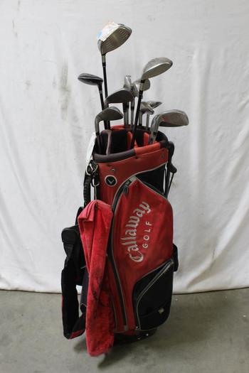 Callaway Bag With Clubs, 10+ Pieces