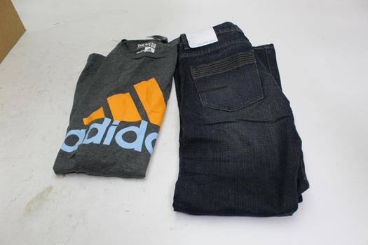 Calvin Klein And Adidas Men's And Boy's Clothing, 2 Pieces