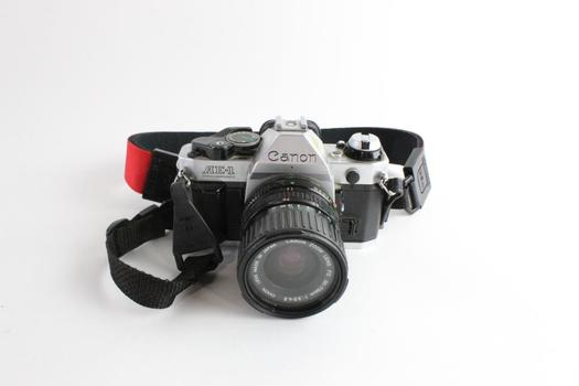 Canon AE-1 Program 35mm SLR Camera