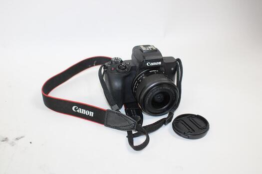Canon EOS M50 15-45mm Digital Vlogging Camera