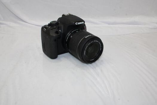 Canon EOS Rebel T5i DSLR Camera With Canon Lens