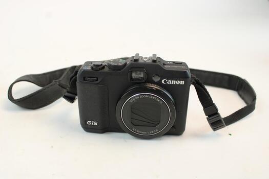 Canon G15 Digital Camera