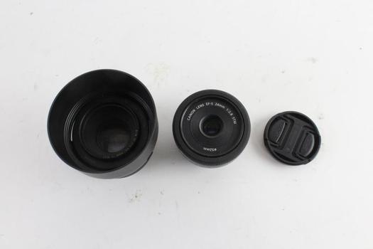 Canon Lenses, 2 Pieces