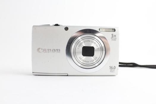 Canon Powershot A2400 IS Digital Camera