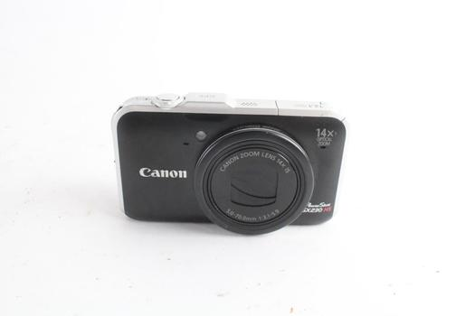Canon Powershot Digital Camera, Sold For Parts