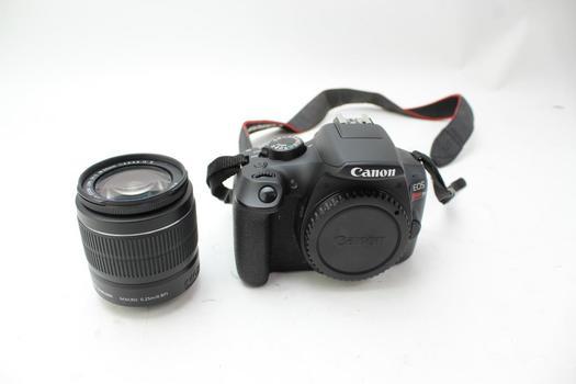 Canon Rebel T6 Digital SLR Camera