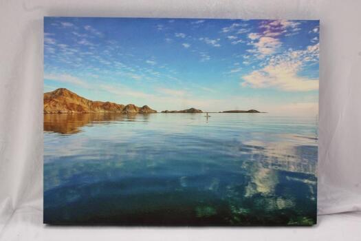 """Canvas Print Baja 2018 Eric Kowal, 18""""L X 24""""W"""