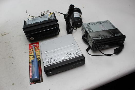 Car Stereo, Air Pump, Lighter: Alpine, Kenwood And More: 5 Items